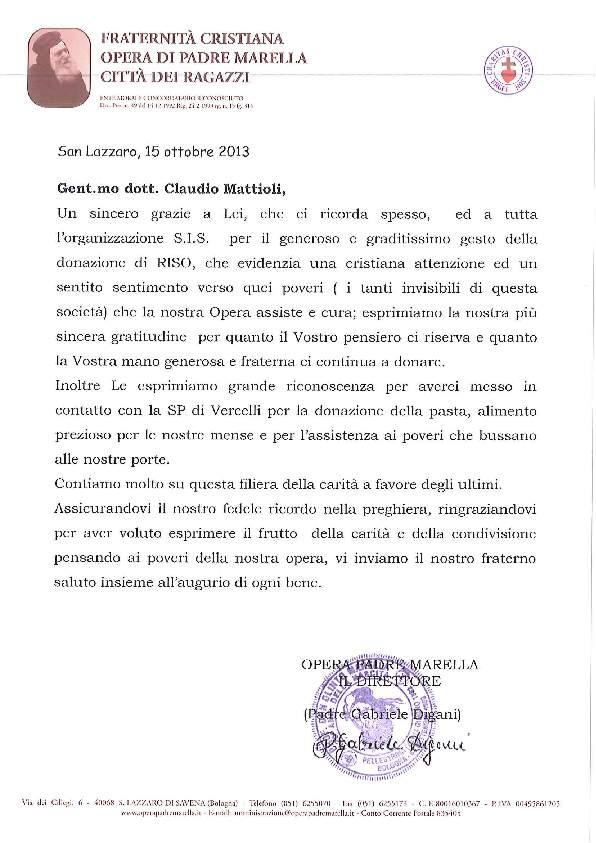 Opera Padre Marella